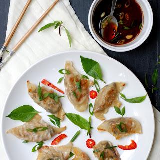 Shiitake Mushroom Lemongrass Potstickers