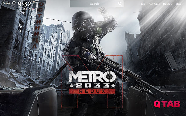 Metro Redux Wallpapers Metro Redux New Tab