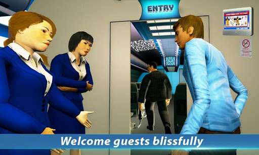 Airport Staff Flight Attendant Air Hostess Games 1.4 screenshots 1