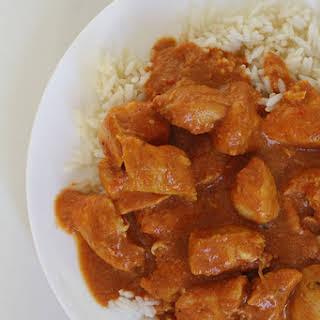 Crockpot Chicken Tikka Masala.