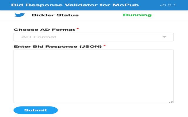 Bid Response Validator for MoPub