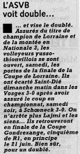 Photo: 23-05-97 Les garçons en finale de la Coupe de Lorraine