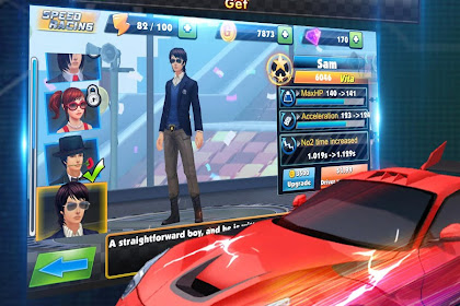 Speed Racing Secret Racer 1.0.6.1 MOD (Unlimited Gems + Gold Coins + Free Purchase + No Ads)