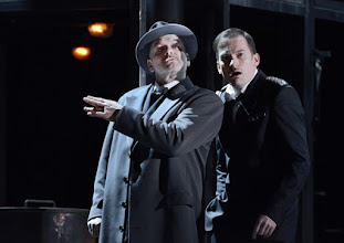 Photo: WIEN/ Theater an der Wien: DIE DREIGROSCHENOPER. Premiere am 13.1.2016. Inszenierung: Keith Warner. Florian Boesch, Markus Butter. Copyright: Barbara Zeininger