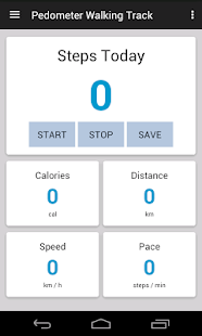 Pedometer Walking Track - náhled