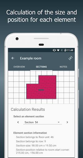 Floor Calculator: Plan & install flooring 1.1 screenshots 3