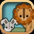 الأرنب والأسد - حكايات الغابة