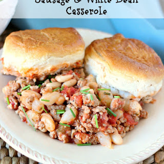 Sausage & White Bean Casserole