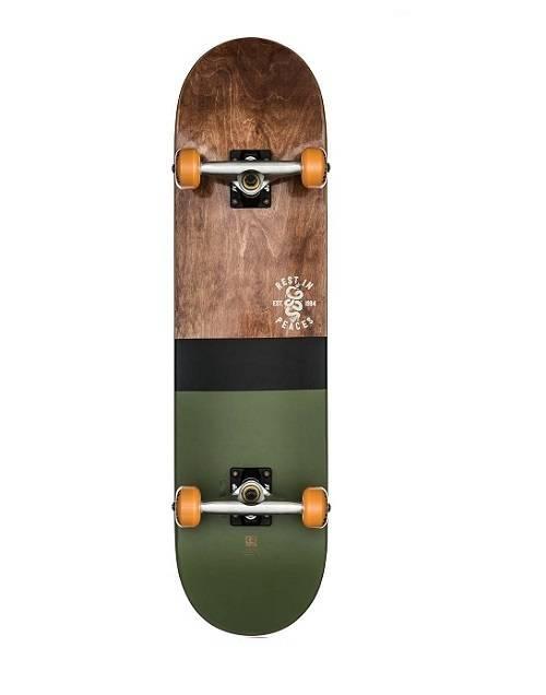 skateboard - Globe G2 Half dip 2 Dark maple hunter green 8.0