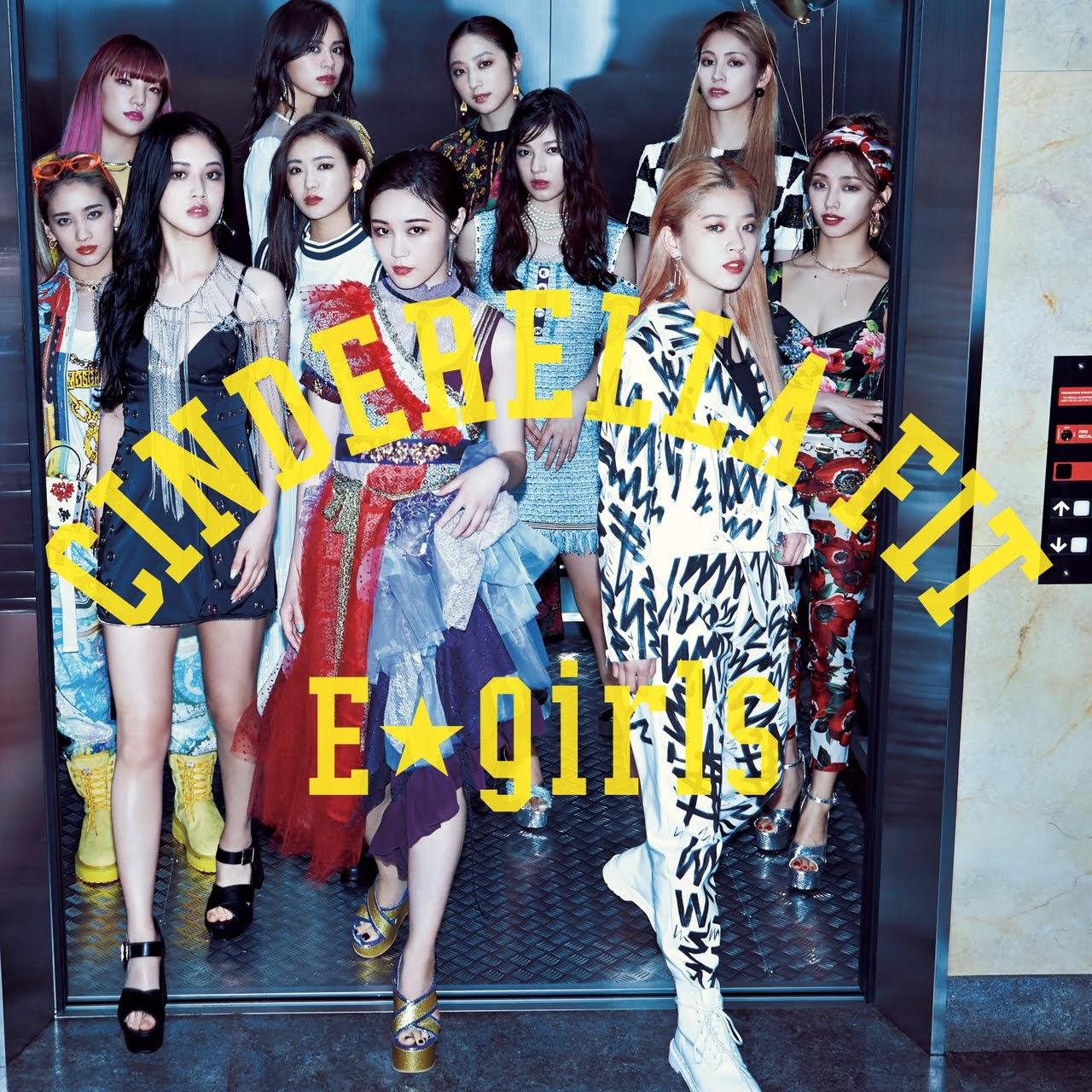 "Capa do single ""Cinderella Fit"" – CD+DVD Edition."
