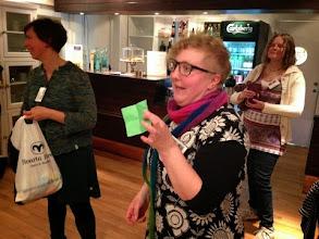 """Photo: Lisa lotsades oss genom lotteriet - överskottet gick till Hjälpstickan och """"resterna"""" till barnterapin på Drottning Silvias Barnsjukhus."""