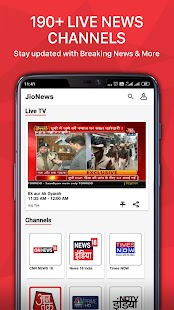 JioNews - Live News, TV, Magazine, Video, e-paper Screenshot