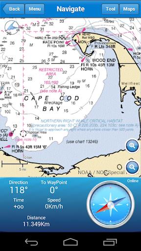 Marine Navigation screenshot 3