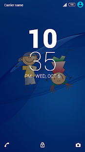 Kids Xperia Theme- screenshot thumbnail