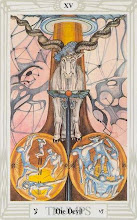 Photo: .XV. The Devil - O Diabo Thoth Tarot Crowley