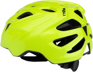 Kali Protectives Chakra Mono Helmet: Fluorescent Yellow alternate image 2