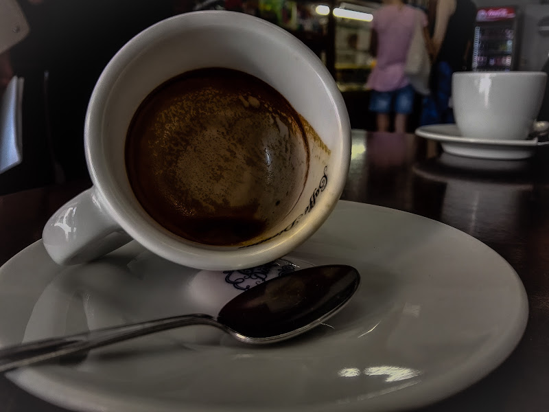 pausa caffè di boomerang