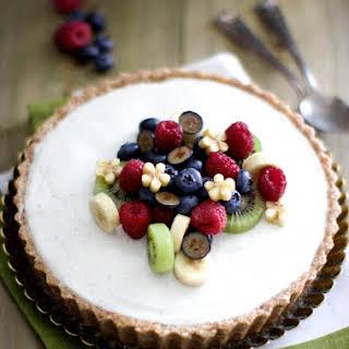 Easy Dessert Recipe – Yogurt Cardamom Tart.