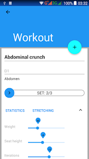 Fitness Manager - náhled