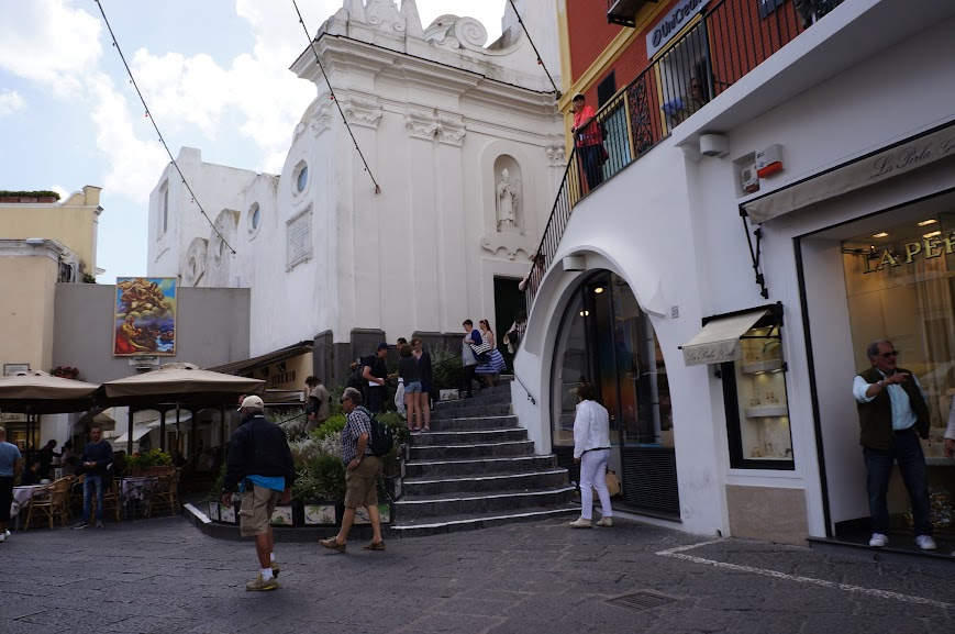 Town of Capri, Italy (2015)