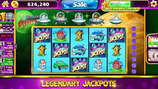 Jackpot Party Casino Games: Spin FREE Casino Slots 5015.00 APK Mod Latest Version 3