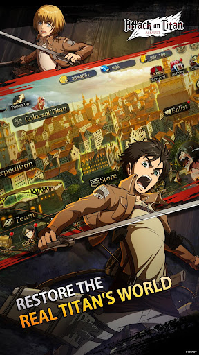 Attack on Titan: Assault screenshot 2