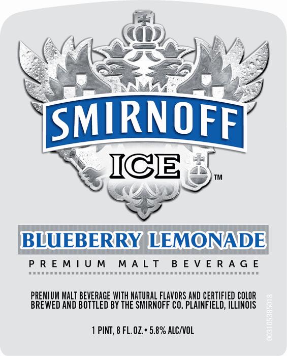 Logo of Smirnoff Blueberry Lemonade