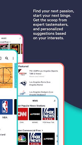 TuneIn Radio: Live News, Sports & Music Stations screenshot 8