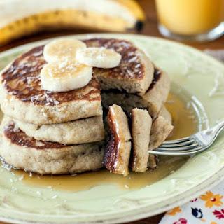 Banana-Coconut Pancakes (Gluten-Free, Dairy-Free, Egg-Free, Corn-Free).