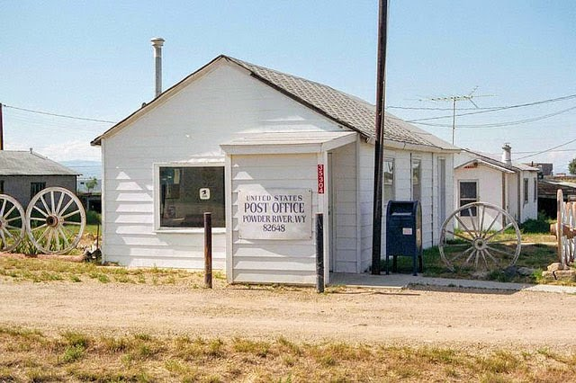 Powder River, WY post office, 1997