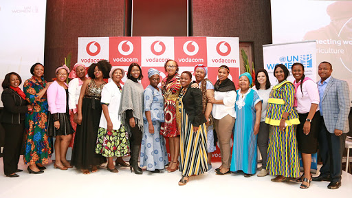 The Vodacom Foundation officially launched its digital literacy programme for SA women farmers last year.
