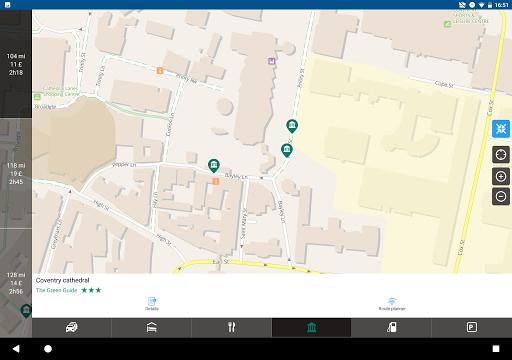 ViaMichelin Route planner,maps screenshot 14