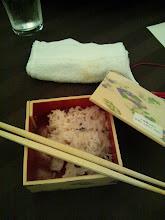 Photo: 赤飯も美味しく頂きました!