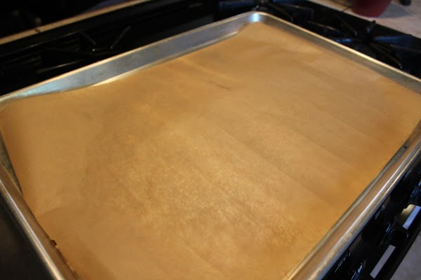Spray cookie sheets with nonstick spray.