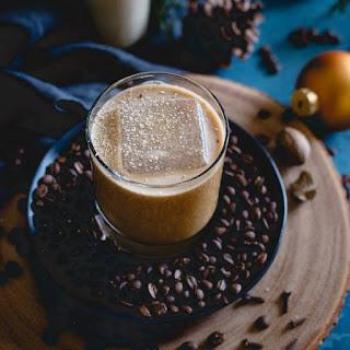 Coconut Bourbon Coffee Nog.