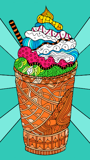 Relax Color: Antistress coloring book for adults - screenshot