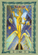 Photo: .I. Mat - O Mago Thoth Tarot Crowley