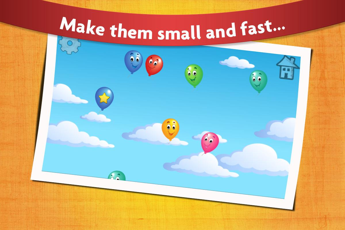 Kids balloon pop game free android apps on google play for Free balloon games