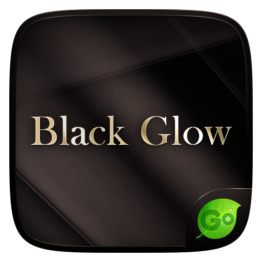 Black Glow GO Keyboard Theme
