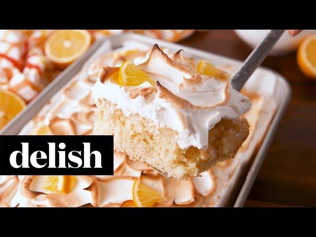 Lemon Meringue Poke Cake Recipe