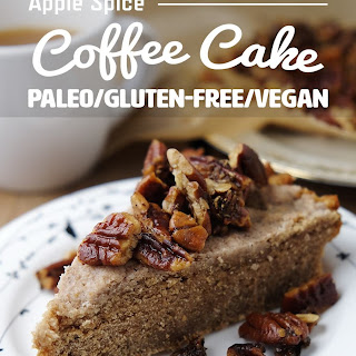 Apple Spice Coffee Cake (Grain Free, Vegan)