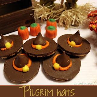 Pilgrim Hats Cookies