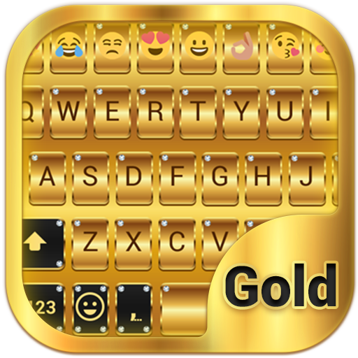 Gold Emoji Keyboard Theme - Apps on Google Play
