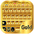 Gold Emoji Keyboard Theme file APK for Gaming PC/PS3/PS4 Smart TV