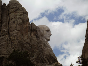 Photo: Day 24 Hot Springs SD to Mt Rushmore (Keystone SD) 53 miles 5600' climbing  first View of Mt