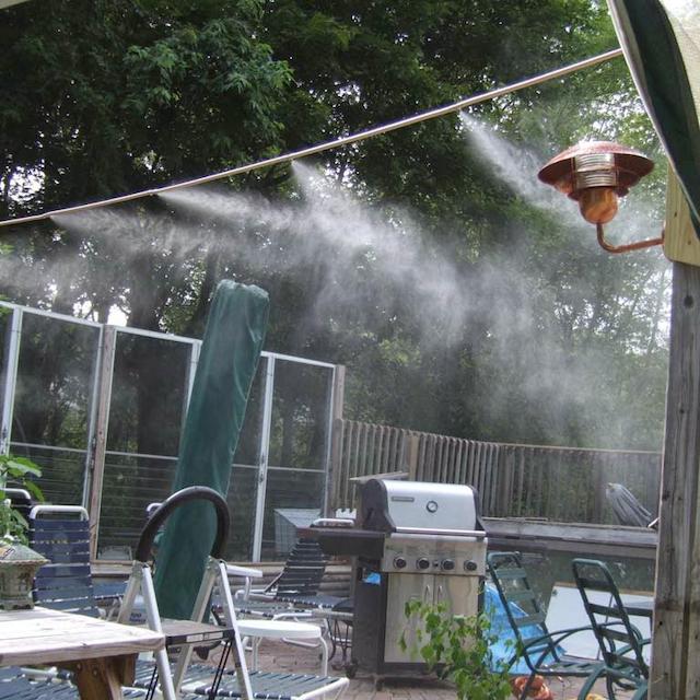 Sử dụng máy phun sương cho quán cà phê mang lại những lợi ích gì?
