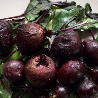 Oven Roasted Beets with Beet Greens Recipe