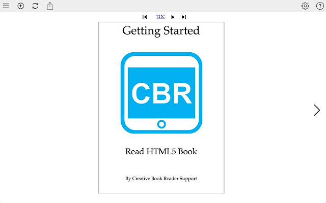 Creative book reader html5 book reader chrome web store creative book reader is a new way to read html5 books creative book reader can download and extract html5 book zip file and store fandeluxe Image collections