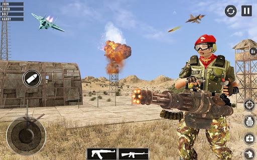 FPS Gunner Shooter: Commando Mission Game 1.0.16 screenshots 11