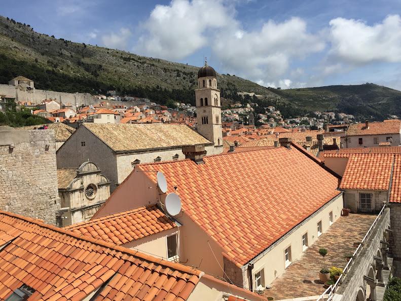 ドゥブロヴニク旧市街 城壁からの眺め
